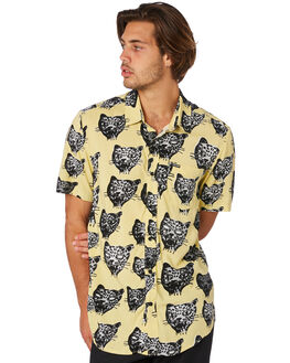 LIME MENS CLOTHING VOLCOM SHIRTS - A0411907LIM