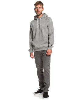 LIGHT GREY HEATHER MENS CLOTHING QUIKSILVER JUMPERS - EQYFT03846-SEYH
