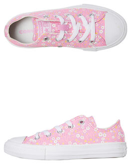 PEONY PINK KIDS GIRLS CONVERSE SNEAKERS - 666881CPPNK