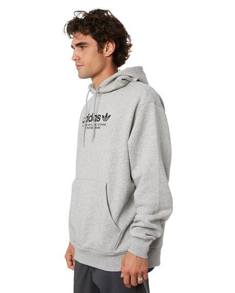 MEDIUM GREY HEATHER MENS CLOTHING ADIDAS JUMPERS - GM5179MGH