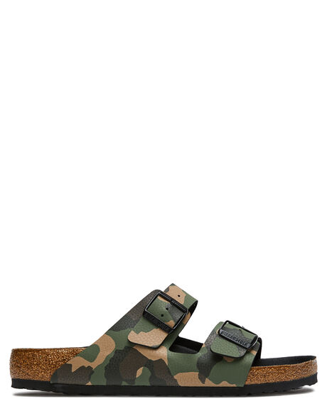 CAMO MENS FOOTWEAR BIRKENSTOCK THONGS - 1017782CAMO