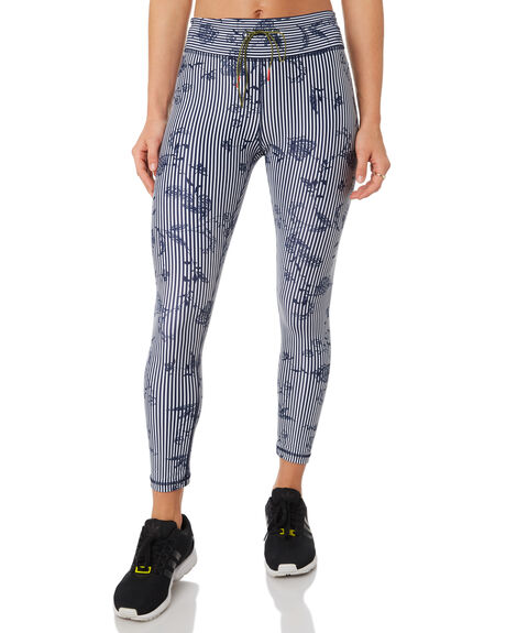 NAVY WHITE WOMENS CLOTHING THE UPSIDE PANTS - UPSW418031NAVY