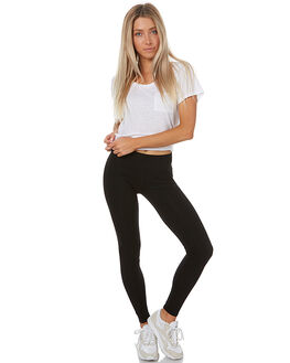 BLACK WOMENS CLOTHING SWELL PANTS - S8172191BLK