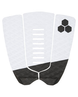 WHITE BLACK BOARDSPORTS SURF CHANNEL ISLANDS TAILPADS - 21024100103WHIBK
