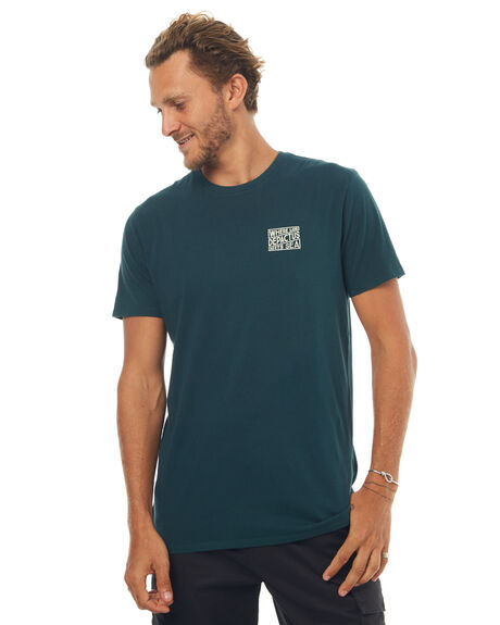 EMERALD MENS CLOTHING DEPACTUS TEES - D5171006EMRLD
