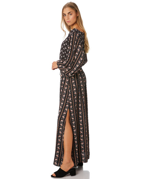 CHARCOAL WOMENS CLOTHING TIGERLILY DRESSES - T393427CHR