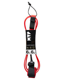 RED BLACK BOARDSPORTS SURF JAM TRACTION LEASHES - LH6M6FRED