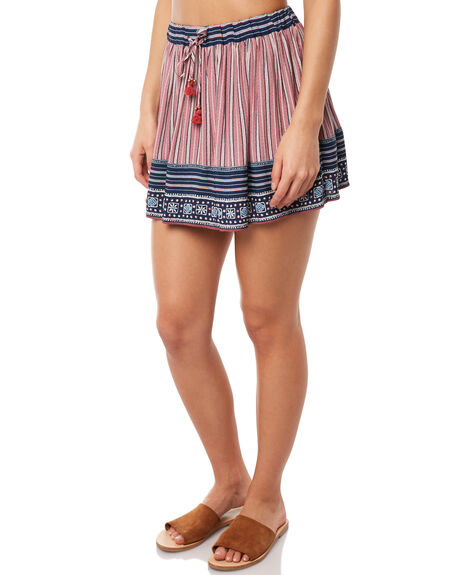 RED WOMENS CLOTHING TIGERLILY SKIRTS - T381282RED