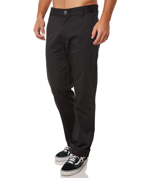 BLACK MENS CLOTHING RHYTHM PANTS - JUL18M-PA03BLK