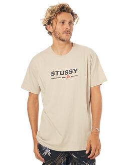 SOLID SAND MENS CLOTHING STUSSY TEES - ST073002SLSND