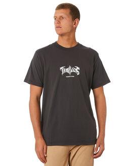 MERCH BLACK MENS CLOTHING THRILLS TEES - TW9-110MBMCBLK