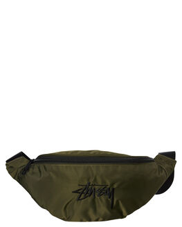 FLIGHT GREEN MENS ACCESSORIES STUSSY BAGS + BACKPACKS - ST796012FLIG