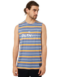 BLUE MENS CLOTHING ST GOLIATH SINGLETS - 4320028BLU