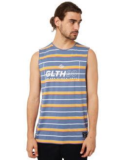 BLUE MENS CLOTHING ST GOLIATH SINGLETS - 4320028BLU