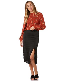 BLACK WOMENS CLOTHING SASS SKIRTS - 13713SWSSBLK