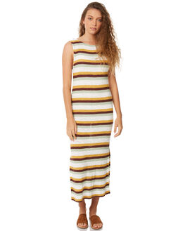 STRIPE WOMENS CLOTHING ZULU AND ZEPHYR DRESSES - ZZ2067STR