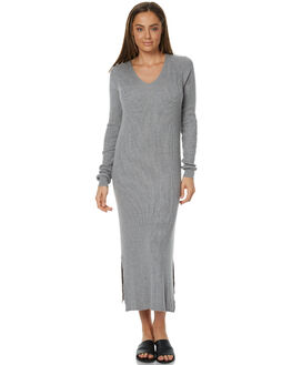 GREY MARLE WOMENS CLOTHING ASSEMBLY DRESSES - AW-W21713GRYM