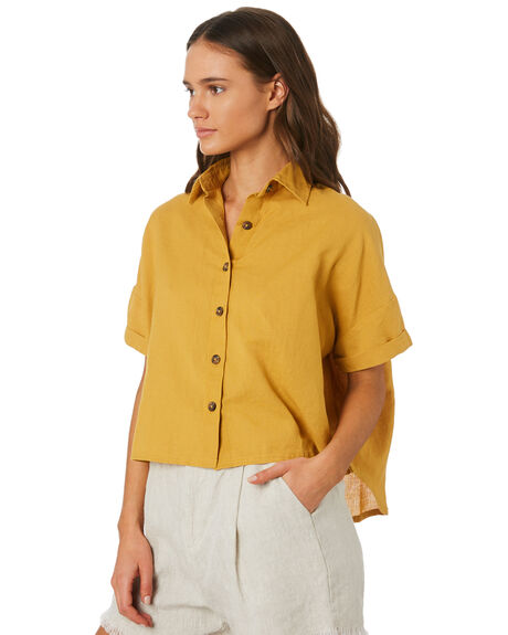 MUSTARD WOMENS CLOTHING SWELL FASHION TOPS - S8201021MUSTD