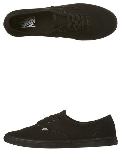 BLACK BLACK WOMENS FOOTWEAR VANS SNEAKERS - SSVN-0GYQBKAW