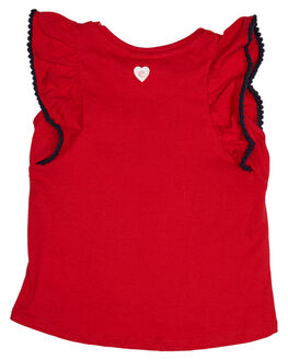 RED KIDS TODDLER GIRLS EVES SISTER TOPS - 8021003RED
