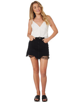 BLK LUV LINES WOMENS CLOTHING A.BRAND SKIRTS - 71361-3600