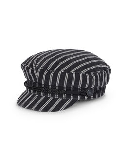 BLACK WHITE WOMENS ACCESSORIES BILLABONG HEADWEAR - BB-6691313-913