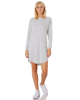 GREY MARLE WOMENS CLOTHING NUDE LUCY DRESSES - NU23527GREY