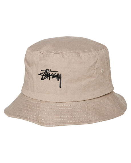 WHITE SAND MENS ACCESSORIES STUSSY HEADWEAR - ST783025WHTS