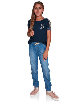 MEDIUM BLUE KIDS GIRLS ROXY PANTS - ERGDP03049-BGY0