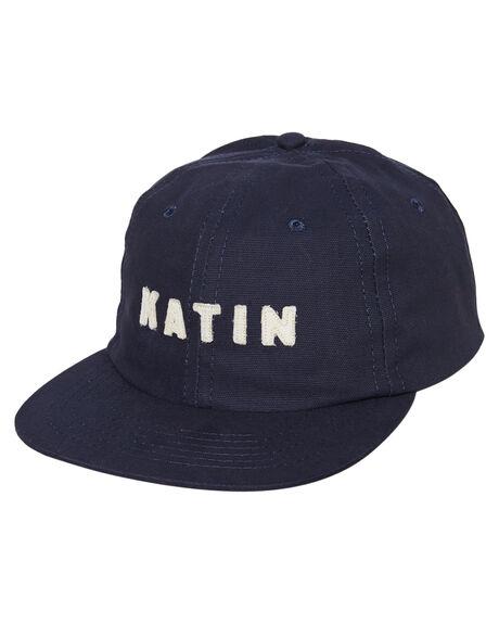 NAVY MENS ACCESSORIES KATIN HEADWEAR - HTSTO05NVY