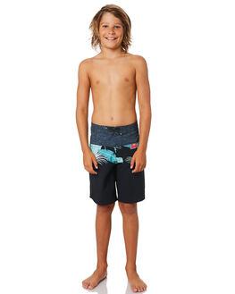BLACK KIDS BOYS BILLABONG BOARDSHORTS - 8595406BLK