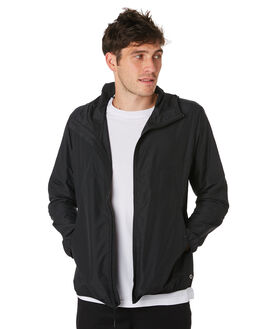 BLACK MENS CLOTHING HERSCHEL SUPPLY CO JACKETS - 15001-00001BLACK