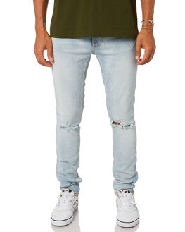 WOLFIE REPLICA MENS CLOTHING NUDIE JEANS CO JEANS - 113148WOLFR