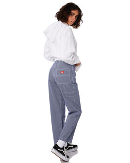 HICKORY STRIPE WOMENS CLOTHING DICKIES PANTS - KW3190903HS