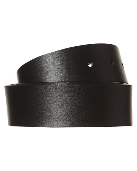 BLACK MENS ACCESSORIES HURLEY BELTS - AMBLLOBLK