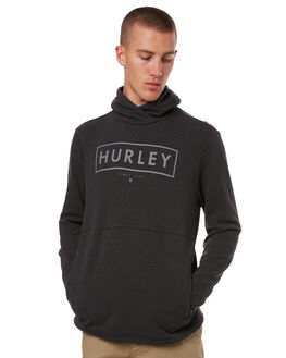 BLACK MENS CLOTHING HURLEY JUMPERS - 895093010