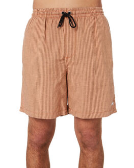 TAN OUTLET MENS STUSSY SHORTS - ST092606TAN