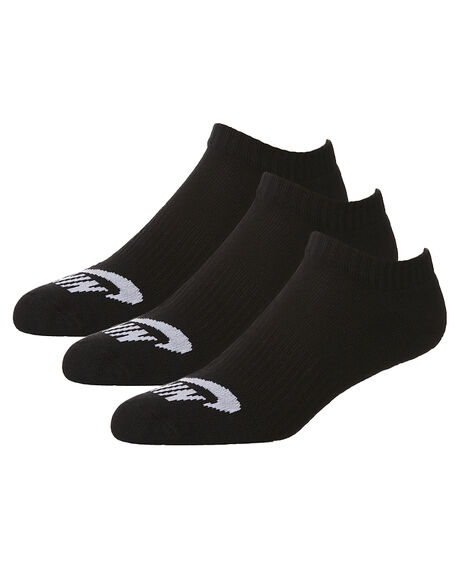 BLACK MENS CLOTHING NIKE SOCKS + UNDERWEAR - SX4921-001001