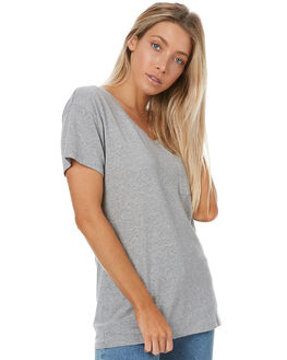 GREY WOMENS CLOTHING SWELL TEES - S8173001GREY