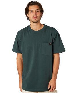 HUNTER GREEN MENS CLOTHING DICKIES TEES - WS-450HNGRN