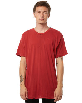 DUSTY RED MENS CLOTHING THE PEOPLE VS TEES - MOTHTEE-DR