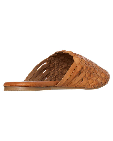 TAN WOMENS FOOTWEAR HUMAN FOOTWEAR FASHION SANDALS - BARLANDTAN