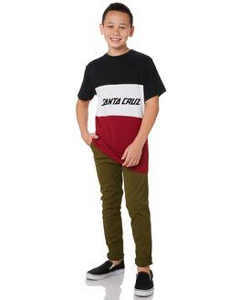 ARMY KIDS BOYS SANTA CRUZ PANTS - SC-YPA0400ARM