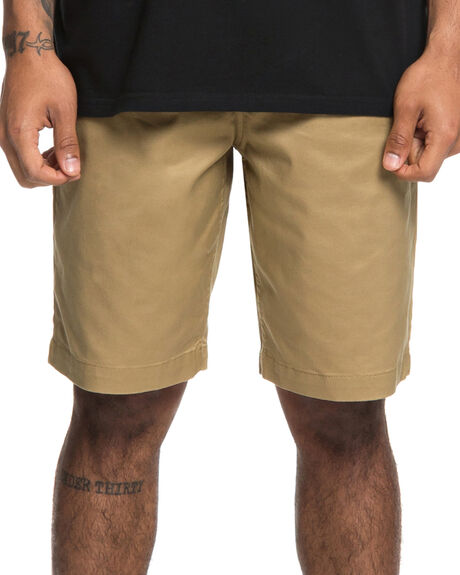 KHAKI MENS CLOTHING DC SHOES SHORTS - EDYWS03111CLM0