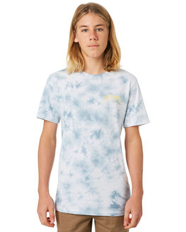 MID BLUE KIDS BOYS RIP CURL TOPS - KTEUY28962