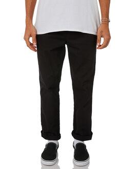 BLACK MENS CLOTHING HUF PANTS - PT00049-BLACK