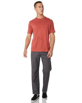 RUST MENS CLOTHING BARNEY COOLS TEES - 106-CC2-RUST