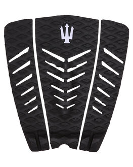 BLACK GREY BOARDSPORTS SURF FAR KING TAILPADS - 1200BLKGR