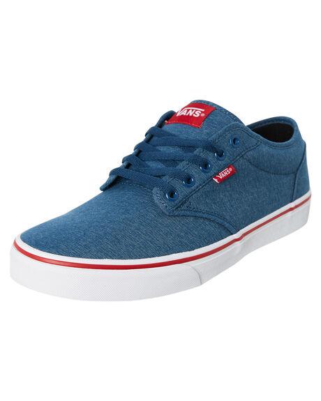 BLUE MENS FOOTWEAR VANS SNEAKERS - VNA45J9VEL
