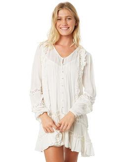 IVORY WOMENS CLOTHING FREE PEOPLE DRESSES - OB8864551103